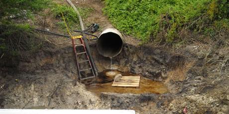 ladder-drain